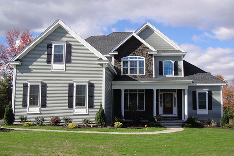 Country Exterior - Front Elevation Plan #927-642 - Houseplans.com