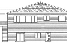 Traditional Exterior - Rear Elevation Plan #117-867