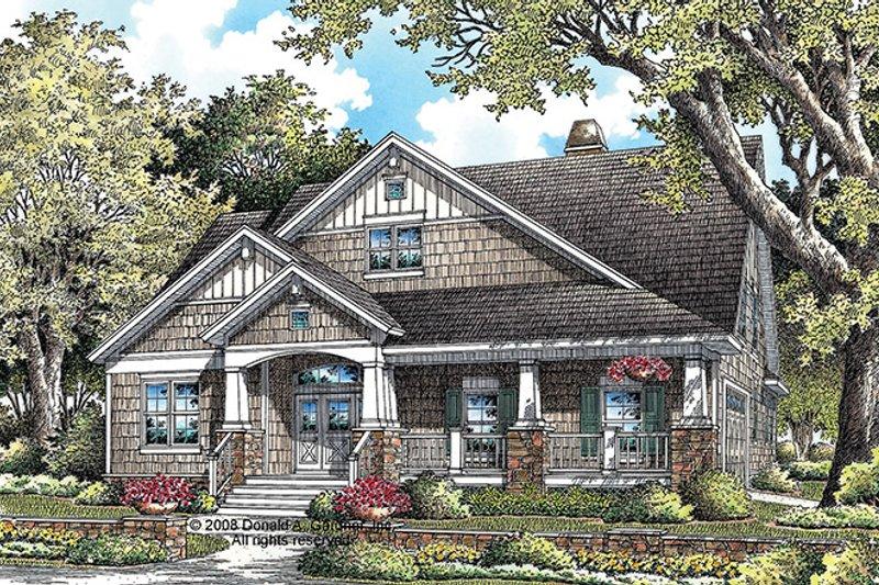 Architectural House Design - Craftsman Exterior - Front Elevation Plan #929-918