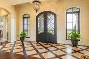 Mediterranean Style House Plan - 4 Beds 4.5 Baths 3474 Sq/Ft Plan #930-276 Interior - Entry