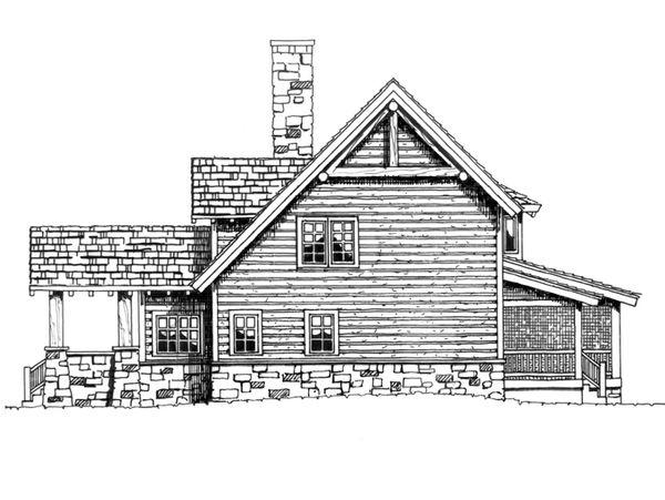 Dream House Plan - Log Floor Plan - Other Floor Plan #942-18