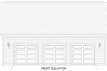 Dream House Plan - Contemporary Exterior - Front Elevation Plan #932-342