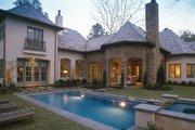 European Style House Plan - 5 Beds 7 Baths 7004 Sq/Ft Plan #20-2167 Exterior - Rear Elevation