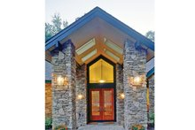 Home Plan - Contemporary Exterior - Front Elevation Plan #314-287