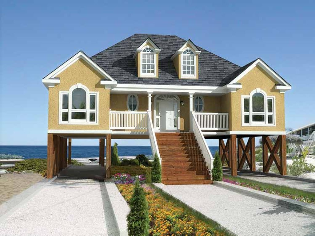 Country Style House Plan - 4 Beds 2 Baths 1936 Sq/Ft Plan ...