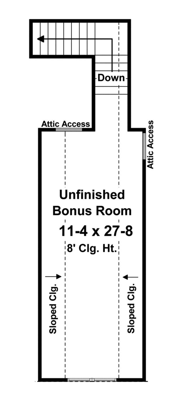 Home Plan - Country Floor Plan - Other Floor Plan #21-429
