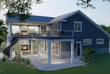 House Plan Design - Traditional Exterior - Other Elevation Plan #1060-76