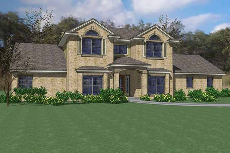 Traditional Exterior - Front Elevation Plan #120-240