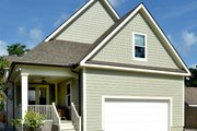 Craftsman Style House Plan - 4 Beds 4 Baths 2672 Sq/Ft Plan #929-837 Exterior - Rear Elevation