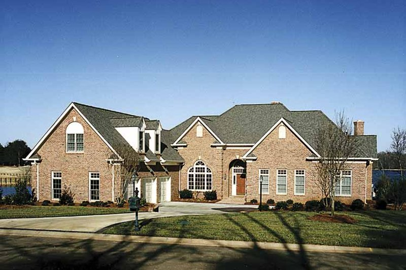 Country Exterior - Front Elevation Plan #453-480 - Houseplans.com
