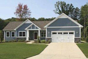 Craftsman Exterior - Front Elevation Plan #928-164
