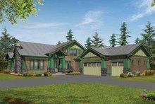 Craftsman Exterior - Front Elevation Plan #132-239