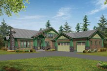 Dream House Plan - Craftsman Exterior - Front Elevation Plan #132-239
