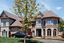 Traditional Exterior - Front Elevation Plan #453-196