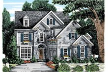 Country Exterior - Front Elevation Plan #927-868