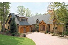 Craftsman Exterior - Front Elevation Plan #929-407
