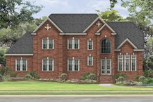 Home Plan - Traditional Exterior - Front Elevation Plan #1057-5