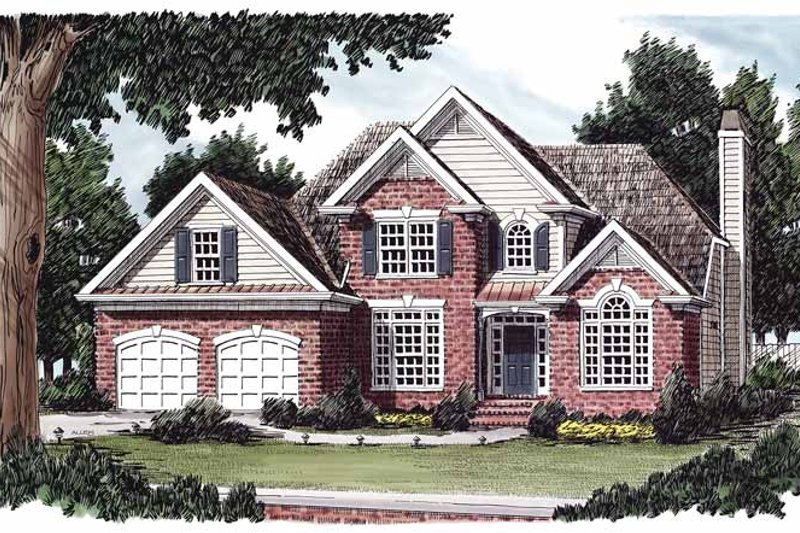 House Plan Design - Traditional Exterior - Front Elevation Plan #927-140
