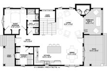 Cottage Floor Plan - Main Floor Plan Plan #928-314