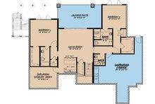 Traditional Floor Plan - Lower Floor Plan Plan #923-11