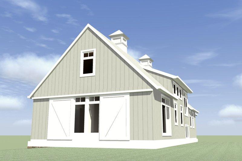 Farmhouse Exterior - Other Elevation Plan #64-215 - Houseplans.com