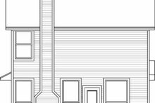 Traditional Exterior - Rear Elevation Plan #84-106