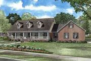 Country Style House Plan - 5 Beds 3.5 Baths 3496 Sq/Ft Plan #17-618