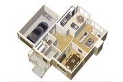 European Style House Plan - 3 Beds 1 Baths 1790 Sq/Ft Plan #25-4680 Floor Plan - Main Floor Plan
