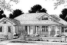 Home Plan - Traditional Exterior - Front Elevation Plan #20-315