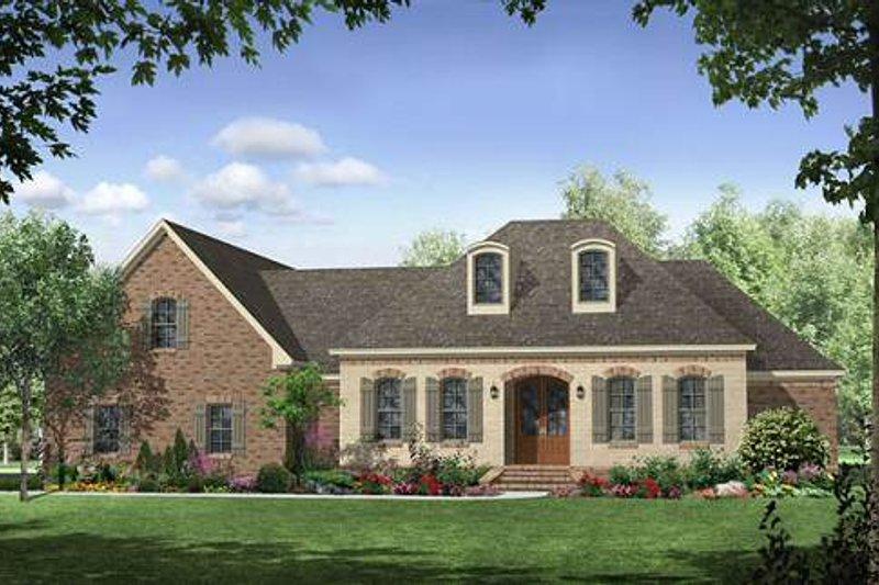 Dream House Plan - European Exterior - Front Elevation Plan #21-266