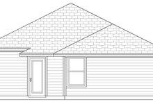 Home Plan - Craftsman Exterior - Rear Elevation Plan #84-492