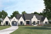 Country Style House Plan - 3 Beds 3.5 Baths 3690 Sq/Ft Plan #1074-40