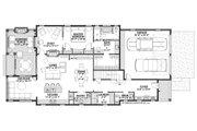 Farmhouse Style House Plan - 3 Beds 2.5 Baths 2781 Sq/Ft Plan #928-344 Floor Plan - Main Floor Plan