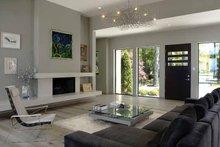 Contemporary Interior - Family Room Plan #928-77