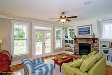 Country Interior - Family Room Plan #929-518