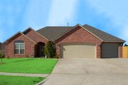 Traditional Style House Plan - 4 Beds 2 Baths 2318 Sq/Ft Plan #65-326 Exterior - Front Elevation