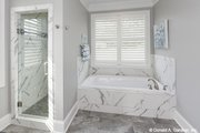 Craftsman Style House Plan - 4 Beds 3 Baths 2239 Sq/Ft Plan #929-1025 Interior - Master Bathroom