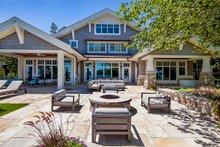 House Plan Design - Craftsman Exterior - Outdoor Living Plan #928-305
