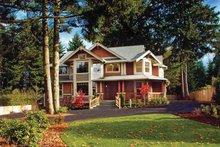Craftsman Exterior - Front Elevation Plan #132-244