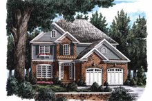 Colonial Exterior - Front Elevation Plan #927-703