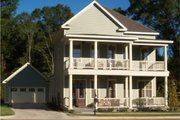 Southern Style House Plan - 3 Beds 2.5 Baths 2216 Sq/Ft Plan #63-264 Exterior - Front Elevation