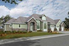 Craftsman Exterior - Front Elevation Plan #132-274