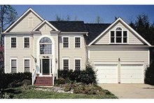 House Plan Design - Colonial Exterior - Front Elevation Plan #453-483