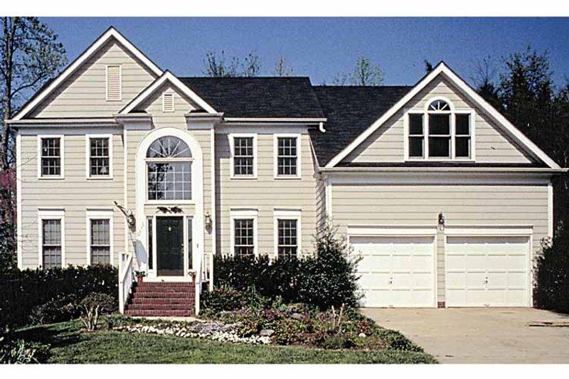 Colonial Exterior - Front Elevation Plan #453-483 - Houseplans.com
