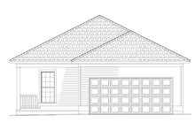 House Plan Design - Country Exterior - Rear Elevation Plan #17-2970