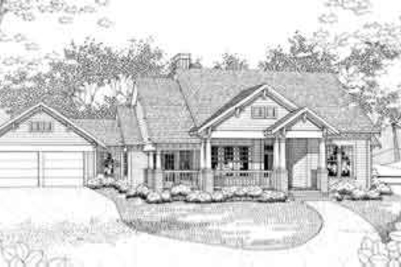 Dream House Plan - Traditional Exterior - Front Elevation Plan #120-152