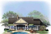 Craftsman Style House Plan - 4 Beds 3 Baths 2498 Sq/Ft Plan #929-973 Exterior - Rear Elevation