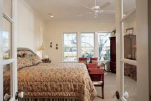 Country Interior - Bedroom Plan #37-257