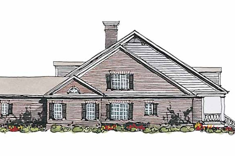 Classical Exterior - Other Elevation Plan #429-181 - Houseplans.com