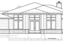 Prairie Exterior - Front Elevation Plan #509-417